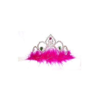 Coroa-Princesa-Pluminha-Marabu---pacote-12-unidades