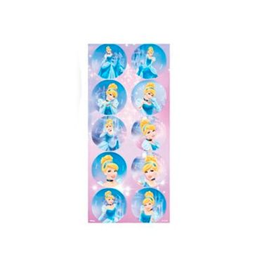 Adesivo-Decorativo-Cinderela-Luz---3-cartelas-com-10-unidades-cada