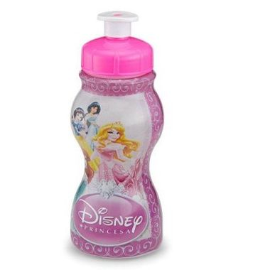 Garrafa-Princesas---sleeve---plastica---250-ml---unidade