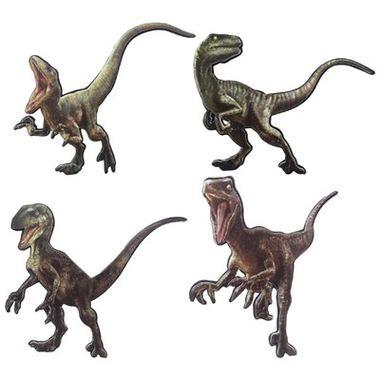 Aplique-Mini-Raptors---Jurassic-World---impresso-e-e.v.a.---04-unidades