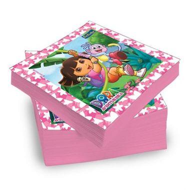 Guardanapo-Dora-a-Aventureira---25-x-25-cm---pacote-20-unidades