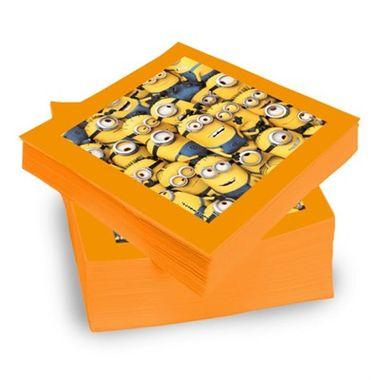 Guardanapo-Minions---Meu-Malvado-Favorito-2---pacote-20-unidades