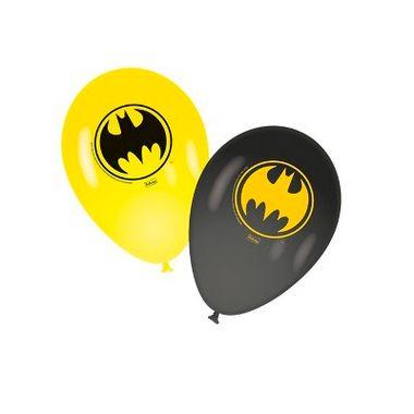 Balao-Batman-Geek-9----Latex---para-Vareta---Pacote-25-unidades