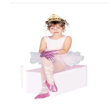 Kit-Acessorios---Sapatilhas-Luvas-e-Tiara-Dourada---infantil