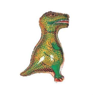 Balao-Dinossauro-Rex-14----metalizado---Verde---unidade
