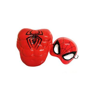 Kit-Homem-Aranha-Infantil---Peitoral-e-Mascara---Plastico---unidade