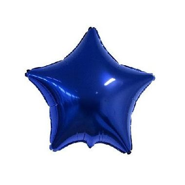Balao-Estrela-9----metalizado---Azul---unidade