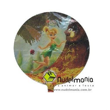 Balao-Fadas-Disney-18----Tinker-Bell---Sininho---Redondo---metalizado---unidade