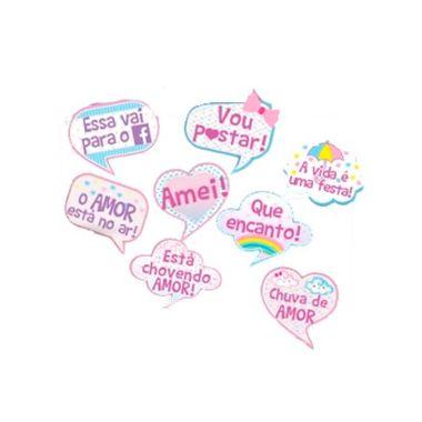 Kit-Plaquinhas-Divertidas-Chuva-de-Amor---08-unidades