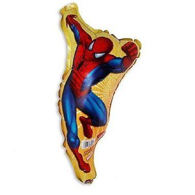 Balao-Homem-Aranha---Mini-Shape---metalizado---Unidade