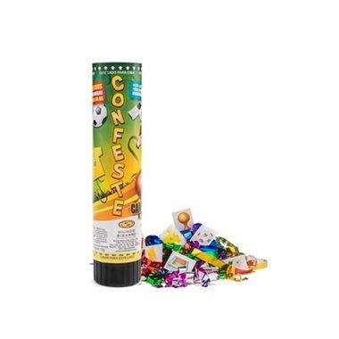 Lanca-Confete-Confeste-Kids-21cm---Adesivos-Campeoes---unidade