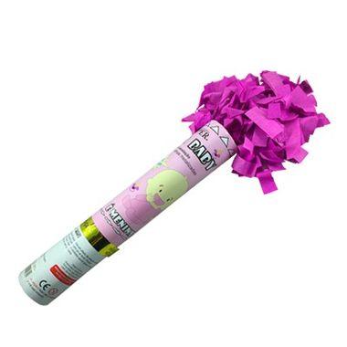 Lanca-Confete-Popper-Baby---30-cm---confetes-retangulares-metalizados-rosa---unidade