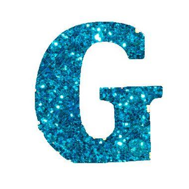 Letra-G-Glitter---e.v.a.---cor-Azul---unidade