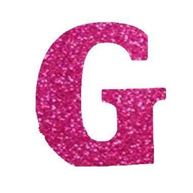 Letra-G-Glitter---e.v.a.---cor-Rosa---unidade