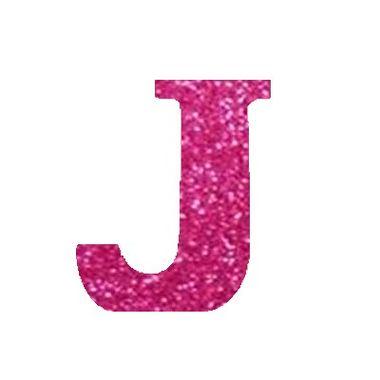 Letra-J-Glitter---e.v.a.---cor-Rosa---unidade