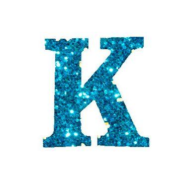 Letra-K-Glitter---e.v.a.---cor-Azul---unidade