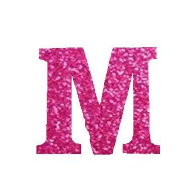 Letra-M-Glitter---e.v.a.---cor-Rosa---unidade