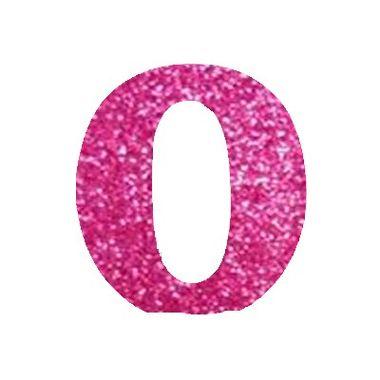 Letra-O-Glitter---e.v.a.---cor-Rosa---unidade