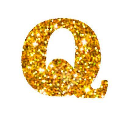 Letra-Q-Glitter---e.v.a.---cor-Dourada---unidade