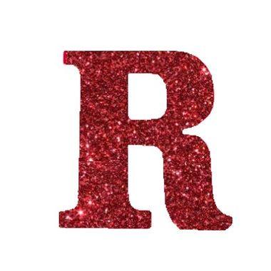 Letra-R-Glitter---e.v.a.---cor-Vermelha---unidade