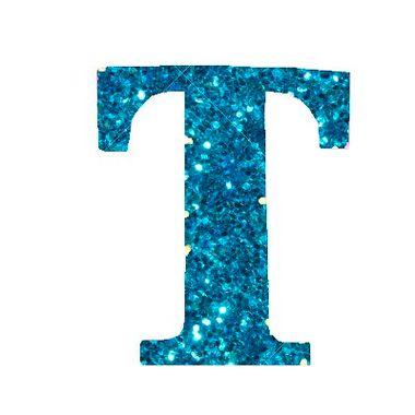 Letra-T-Glitter---e.v.a.---cor-Azul---unidade