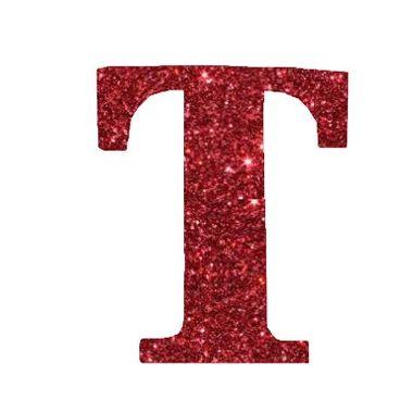 Letra-T-Glitter---e.v.a.---cor-Vermelha---unidade