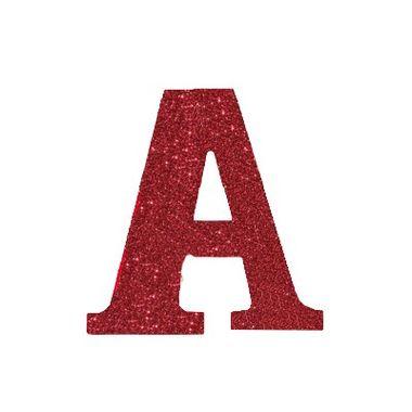 Letra-W-Glitter---e.v.a.---cor-Vermelha---unidade