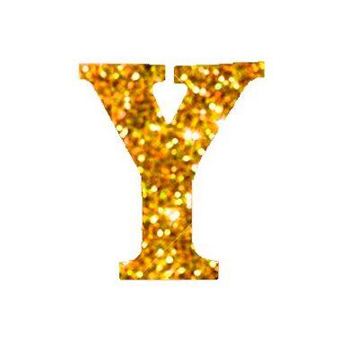 Letra-Y-Glitter---e.v.a.---cor-Dourada---unidade