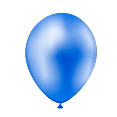 Balao-Liso-Pic-Pic-10----Azul-Regata---Latex---pacote-50-unidades