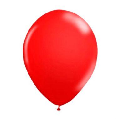 Balao-Liso-Pic-Pic-10----Vermelho---Latex---pacote-50-unidades