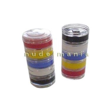 Maquiagem-Tinta-Cremosa---Torre-05-cores-sortidas---Cartela