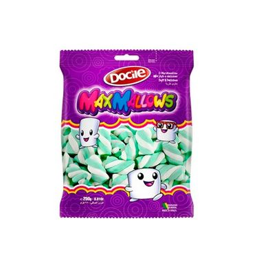 Marshmallow-Maxmallows-Twist-Verde-Branco-Baunilha---pacote-250-g