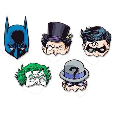 Mascara-Batman-Personagens---cartonagem---08-unidades