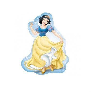 Balao-Princesa-Branca-de-Neve-14----Mini-Shape---metalizado---unidade