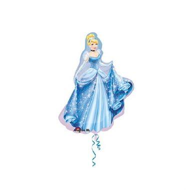 Balao-Princesa-Cinderela---Super-Shape---metalizado---unidade