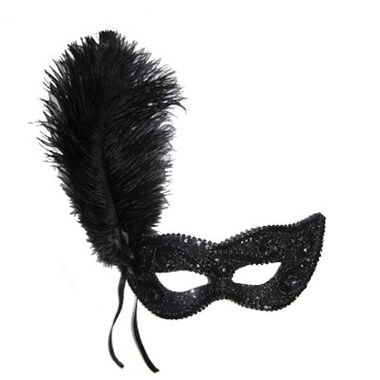 Mascara-Gala-Imperial---pedras-plumas-e-adornos---Preta---unidade