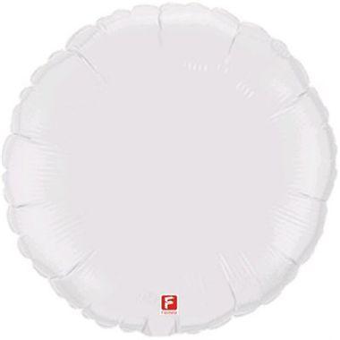 Balao-Redondo-20----metalizado---Branco---unidade