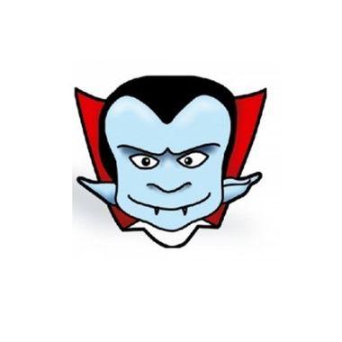 Mascara-Halloween---Vampiro---papel-cartao---pacote-10-unidades