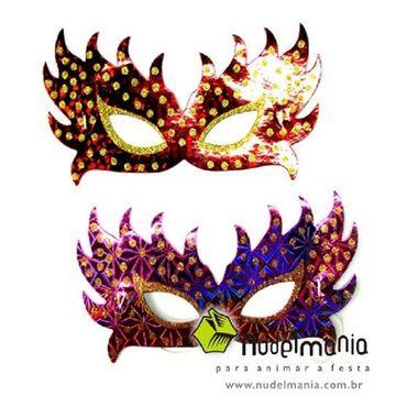 Mascara-Holografica-Princesa---gliter-poa---cores-sortidas---pacote-06-unidades