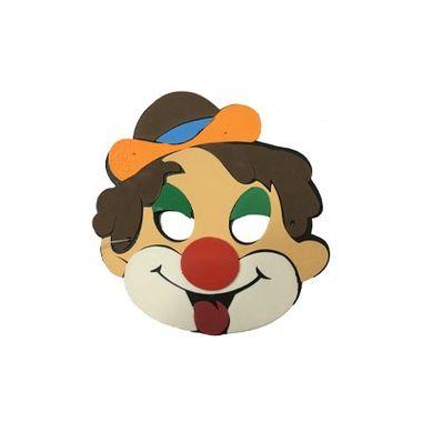 Mascara-Infantil-Palhaco-I---meia-face---e.v.a.---unidade