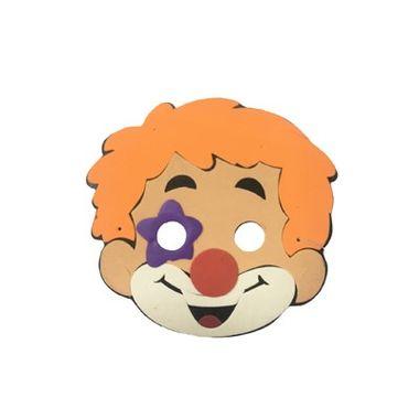 Mascara-Infantil-Palhaco-II---meia-face---e.v.a.---unidade