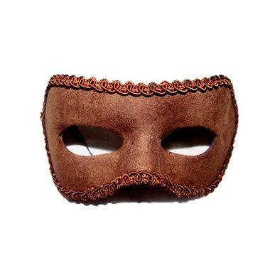 Mascara-Lucius---Lisa-tecido-veludo---Marrom---unidade