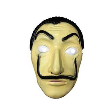 Mascara-Salvador-Dali---La-Casa-de-Papel---plastico---unidade