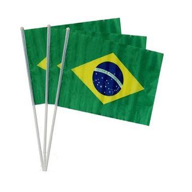 Bandeira-do-Brasil-20-x-14-cm---com-haste---Tecido---pacote-12-unidades