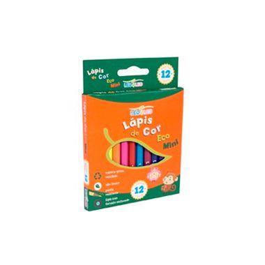 Mini-Lapis-de-Cor-Sextavado-Flex-Ecologico-Leo-Leo---12-cores---unidade