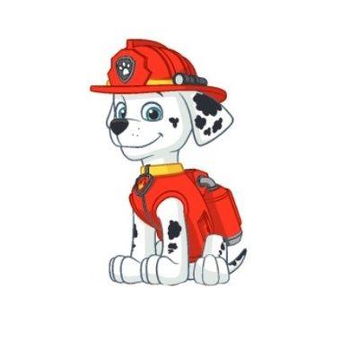 Mini-Painel-Patrulha-Canina---Marshall---e.v.a---unidade