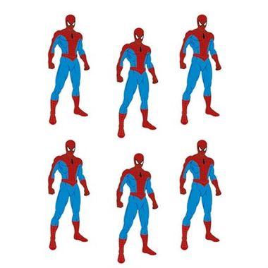 Mini-Personagem-Homem-Aranha---pacote-06-unidades