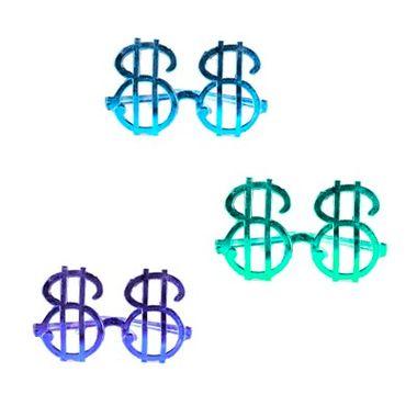 Oculos-Cifrao-Metalizado---cores-sortidas---12-unidades