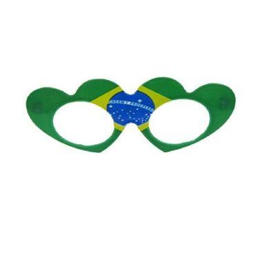 Oculos-Coracao-Brasil-Bandeira---sem-lentes---pacote-10-unidades