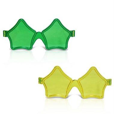 Oculos-Estrela-Cristal-Brasil---cores-sortidas---pacote-12-unidades